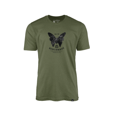 MENS TOPOGRAPHIC T-SHIRT