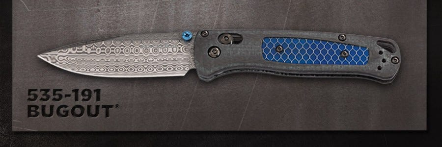 Introducing The 535-191 Bugout®