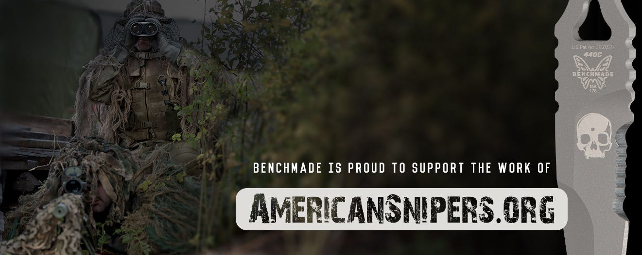 Benchmade Supports American Snipers