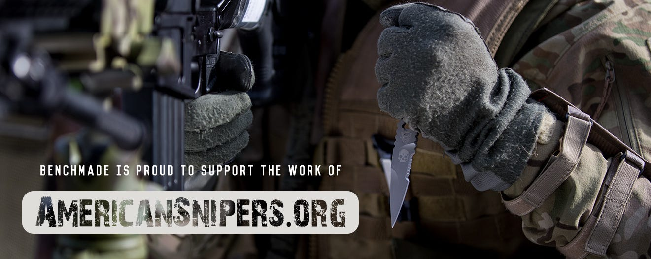 Benchmade Proudly Supports American Snipers