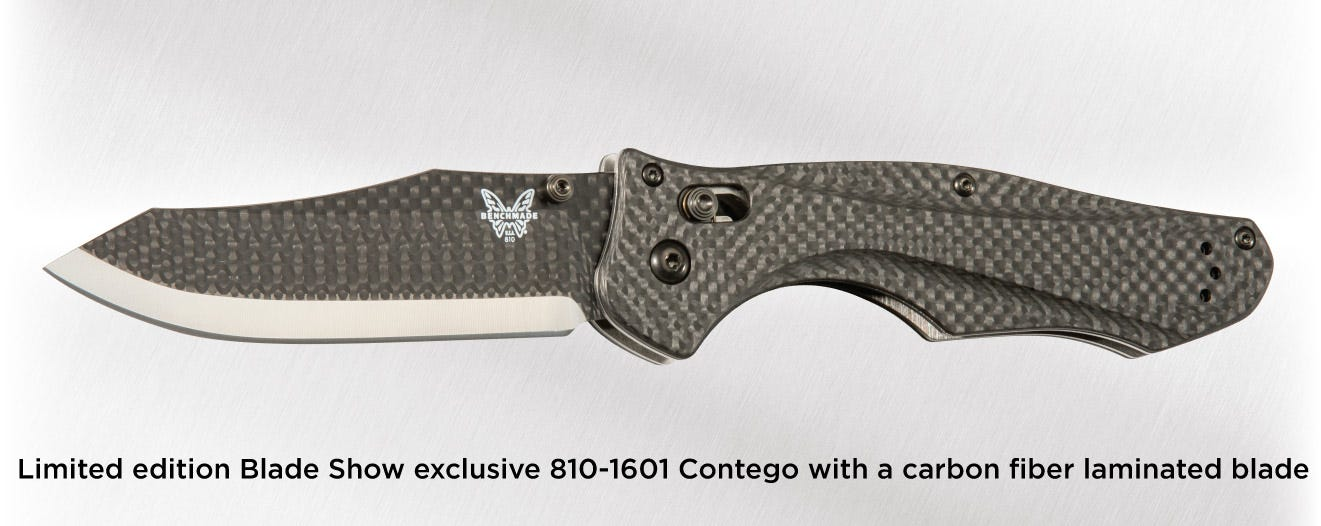 Benchmade Warren Osborne Tribute 810 banner
