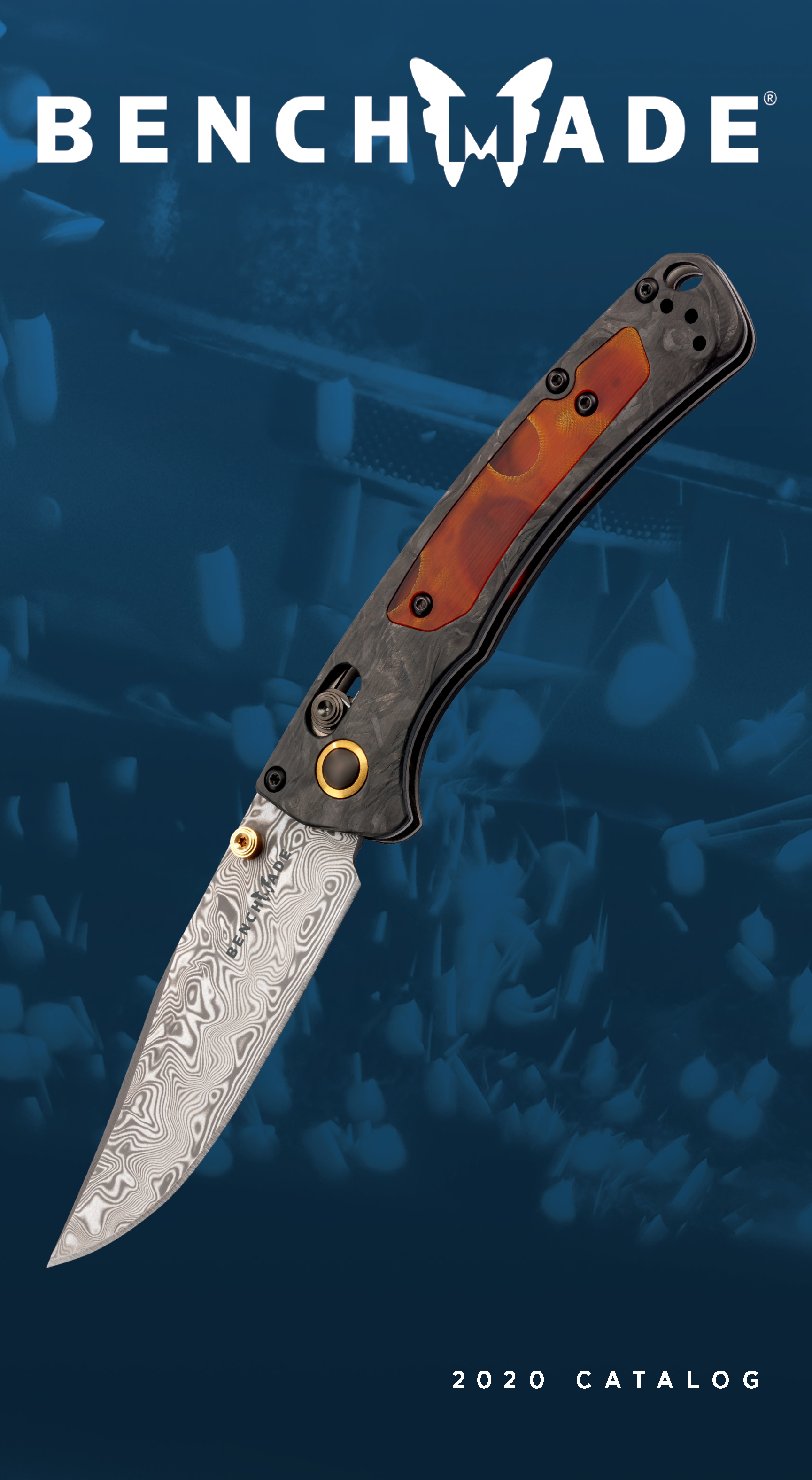 Benchmade Catalog Cover Gold Class Mini Crooked River