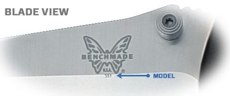 Blade Model Number View